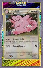Mélodelfe Holo - HS01:HeartGold SoulSilver - 3/123-Carte Pokemon Neuve Française