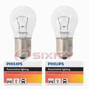 2 pc Philips Back Up Light Bulbs for Isuzu Amigo Pickup Rodeo Trooper gl
