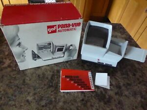 BOXED VINTAGE GAF PANA-VUE AUTOMATIC PHOTO IMAGE VIEWER WITH INSTRUCTIONS