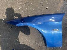 BMW 3 SERIES E90 E91 NS PASSENGER LEFT SIDE WING IN Montego Blue