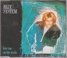 Blue System CD-SINGLE LOVE ME ON THE ROCKS (c) 1989