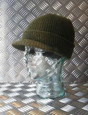 original armée américaine Vert Pic jeep chapeau / Bonnet 100% laine - Neuf