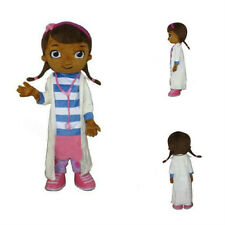 Halloween DOC Mcstuffins Mascot Costume Cosplay Adult Size Cosplay Dress Parade