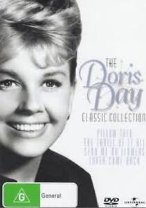The DORIS DAY Classic Collection Pillow Talk+Thrill Of It All+.. DVD 4-MOVIES R4