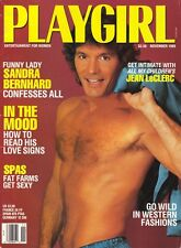 PLAYGIRL Nov 1989 SANDRA BERNHARD Tim Reed WKRP All My Children JEAN LeCLERC