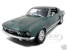 1967 FORD MUSTANG GTA FASTBACK GREEN 1:18 DIECAST MODEL CAR BY MAISTO 31166
