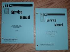 CUB CADET 582 582S 682 782 & 982 SERVICE MANUALS SET 5