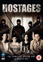 Hostages: The Complete Season One DVD (2015) Ayelet Zurer cert 15 3 discs