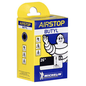 "Michelin Airstop C4 Mountain Bike Inner Tube 26"" x 1.45-2.6 Presta - 40mm"