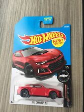 HOT WHEELS 2017 CAMARO ZL1 CAMARO FIFTY 2017 Red Long Card