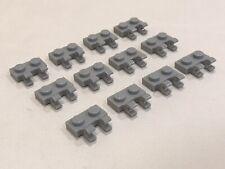 V78 LEGO® 10 x 60470b Platte 1 x 2 mit 2 Clip grün 4556159 modifiziert