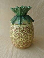 Vintage McCoy Ceramic Cookie Jar Pineapple