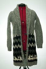 Banana Republic Long Cardigan Sweater Size XS Extra Small Wool Alpaca