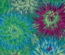 Fat Quarter Kaffe Fassett Cactus Dahlia - GREEN - 100% Cotton Quilting Fabrics