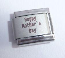 HAPPY MOTHER'S DAY Italian Charm - I Love my MUM 9mm fits Classic Bracelets N259
