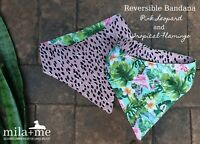 Reversible Dog Bandana/scarf For Large Breed Dogs - Great Dane, greyhound