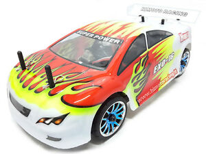 Car Remote-Controlled Electric Brushless Road 4WD Radio 2.4Ghz on-Road Rtr