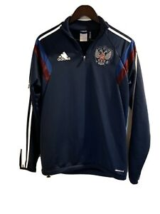 adidas Climacool Track Suit Brazil World Cup Russian Team Jacket & Bottom -Small