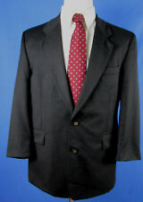 Rene Lezard Men's Dark Gray Black Dress/Casual Jacket Size US 40R