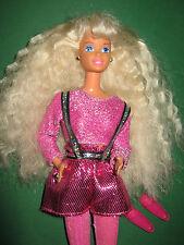 B228-vieja rubio barbie Dance moves #13083 mattel 1995 muy bien conservados