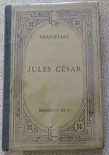 JULES CESAR by Shakspeare - RARE 1876 miniature from Paris