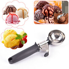 Stainless Steel Ice Cream Scoop Ice Ball Maker Ice Cream Spoon Kitchen Tools _ws