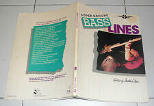 Spartiti SUPER GROUPS BASS LINES Tab Guitar Songbook Sheet music Milton Okun