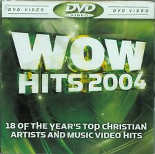 Wow Hits 2004 - Jewel Case - DVD - 18 Top Christian Artists & Music Videos - NEW