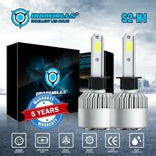 US H1 Car LED Headlight Bulbs High&Low Beam 1500W 225000LM 6000K White Bright