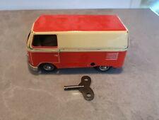 GOSO Western Germany Tin Toy Wind-up VW split bus RARE