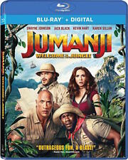 JUMANJI: WELCOME TO THE JUNGLE BLU-RAY - SINGLE DISC EDITION - NEW UNOPENED
