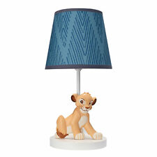 Disney Baby Lion King Adventure Lamp with Shade & Bulb by Lambs & Ivy - Blue