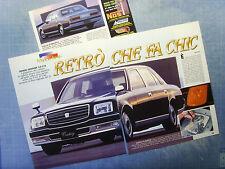 AUTO997-RITAGLIO/CLIPPING/NEWS-1997-TOYOTA CENTURY 5.0 V12 - 3 fogli
