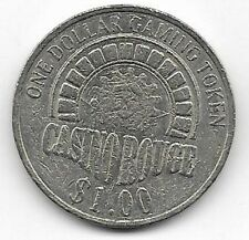 Casino Rouge $1.00 Gaming Token Baton Rouge Louisiana
