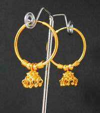 Earrings Large Circle Creole Chic Hoops Stunning Large Big Gold Plated Hoop