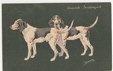 Espinassy, Hunting Dogs Postcard #3, B268
