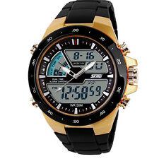 Herren Damen Kinder Armbanduhr Datumsanzeigeuhr Quarz Digital Silikon Sportuhr