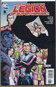 Legion of Super-Heroes 2010 series # 8 very fine comic book