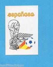 MEXICO 1986-LAMPO/FLASH-Figurina n.15- SPAGNA 1982 - MANIFESTO -Recuperata