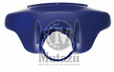 Cobalt Blue Outer Batwing front Fairing Street Electra Glide for Harley Touring