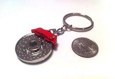 Brake Rotor, Caliper keychain, automotive novelty, Keychain, NEW