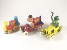 Vintage 70s/80s Muppet Sesame Street Cars. Cookie Monster, Kermit, Fozzie. Corgi