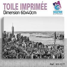 60x40cm - TOILE IMPRIMÉE - TABLEAU MODERNE DECORATION MURALE - NEW YORK - NY-12T