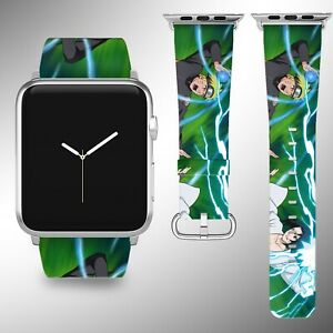 Naruto Apple Watch Band Series SE 6 5 4 3 Leather 40 44 38 40 mm FB
