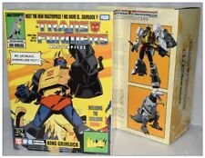 Transformer toy TAKARA MP08X Masterpiece King Grimlock G1 Action Figure New