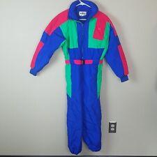 Obermeyer Sport Juniors Eclipse Size 16 Snowboard Snowsuit Ski Suit Hooded EUC