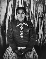 1972 Vintage ANSEL ADAMS 14X11 MATTED PHOTO ENGRAVING Navajo Woman 1948