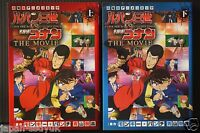 JAPAN Film Comic: Lupin the 3rd vs. Detective Conan: The Movie 1+2 Complete Set