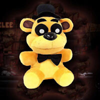 "Cute FNAF Five Nights at Freddy's Collector Golden Freddy Doll Plush Toys 7"" us"