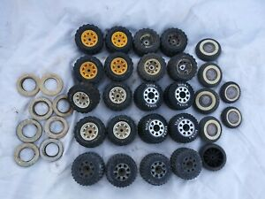 Tonka / Nylint Tire Lot White Walls 27 Tires 1960s 1970s Good Parts Tires